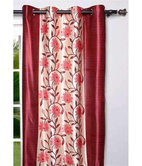 door curtains online india homefab india multicolour polyester door curtain buy