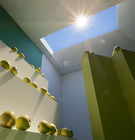 indoor lighting that mimics sunlight artificial lighting tricks human brain into seeing