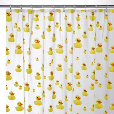 ducky shower curtain buy ducky shower curtain from bed bath beyond