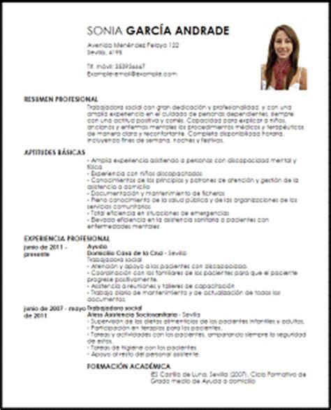 Modelo Curriculum Vitae Con Discapacidad Modelo Curriculum Vitae Trabajadora Social Livecareer