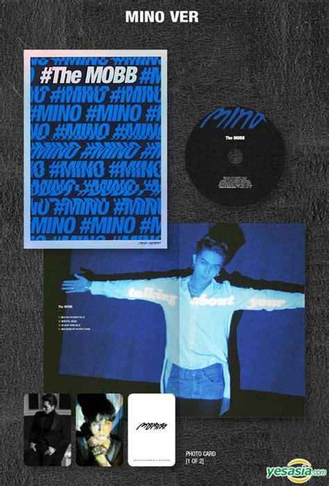 The Mobb Mino Version Poster yesasia mobb debut mini album the mobb mino ver cd mobb yg entertainment korean