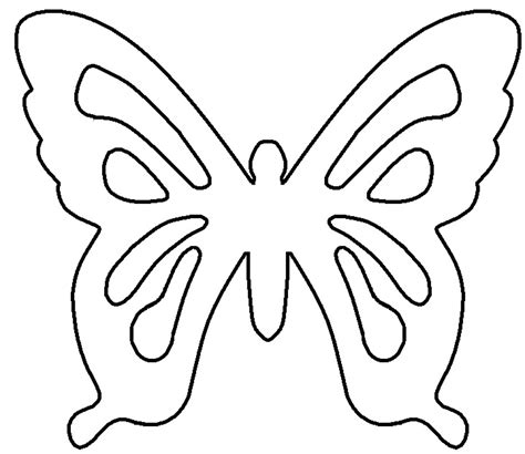 template of butterfly to print gladness of july 2014