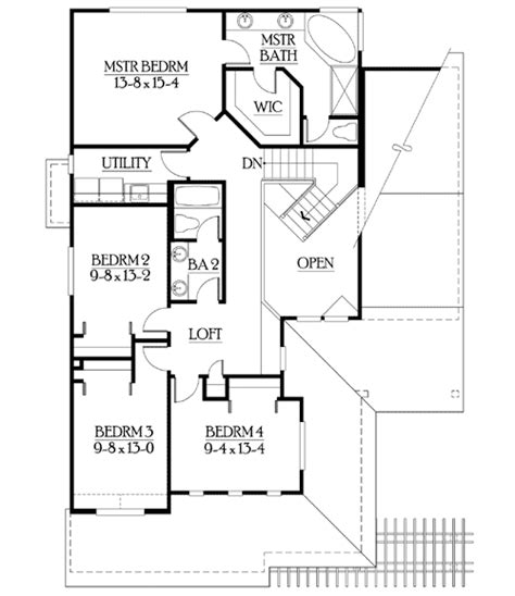 narrow lot house plans with basement narrow lot home with finished basement 23072jd 2nd floor master suite cad available