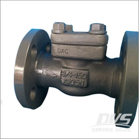 flanged swing check valve forged check valve dervos