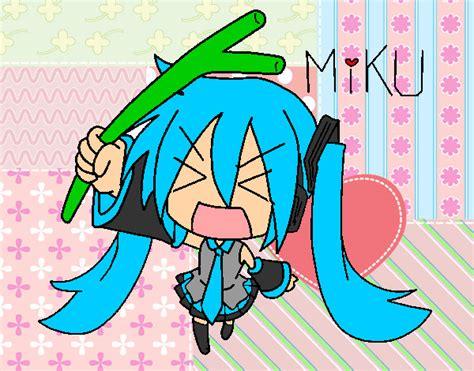 imagenes de miku kawaii dibujo de hatsune miku pintado por marialyx3 en dibujos