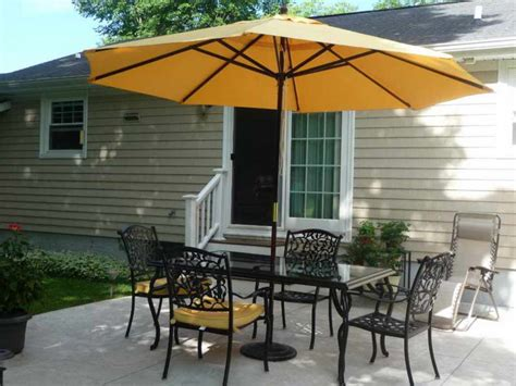 lowes patio table umbrellas patio awesome umbrella table lowes rectangular clearance