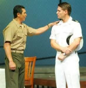 Jensen ackles and lou diamond phillips in a few good men