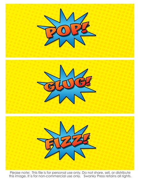 printable drink tags free superhero printables freebie friday superhero