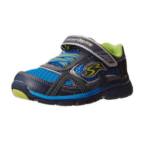 Stride Rite Racer Light Sky Blue Pink stride rite racer lights lightning sneaker toddler kid world shoeskids world shoes