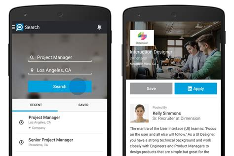 linkedin  helps android owners     step