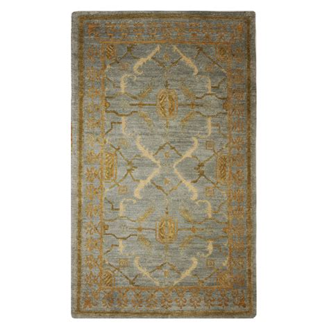 gold rugs contemporary tufenkian modern blue gold wool rug 6966 andonian rugs seattle bellevue store sales