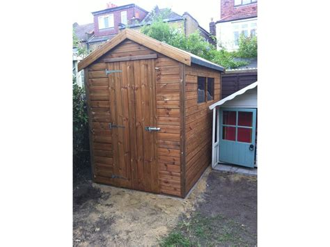 8x5 Shed by 8x5 Apex Tanalised Shed Easy Shed