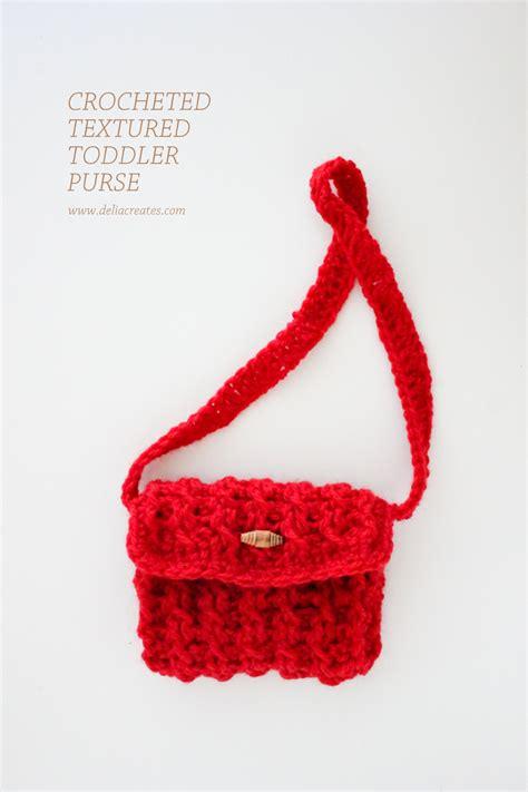 crochet pattern child purse crochet child s bag pattern dancox for