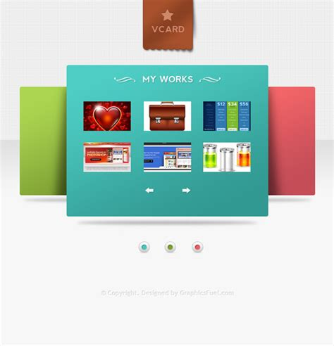 vcard templates v card minimal website psd templates graphicsfuel