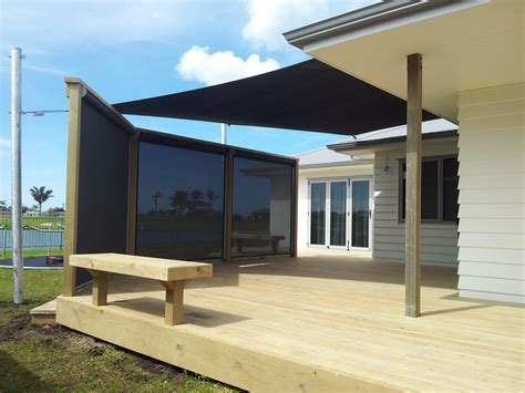 Shade Curtains Outdoor Residential John Hewinson Canvas Whangarei