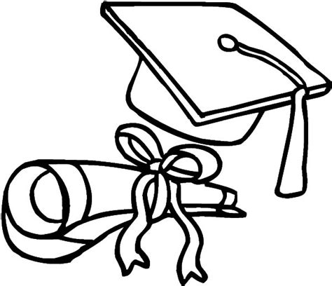 coloring page graduation graduation coloring pages 24253 clipart best clipart best