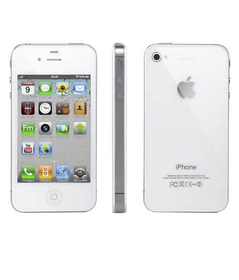Iphone 4s 32gb White apple iphone 4s 32gb white smartphone mobile phones