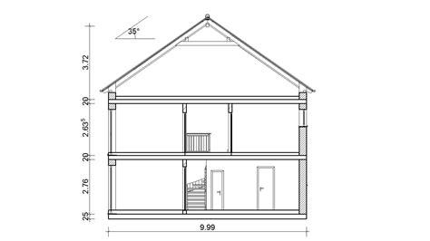 Satteldach 25 Grad Dachneigung by Wohnbaukonzept Ausgew 228 Hlte Planungsideen