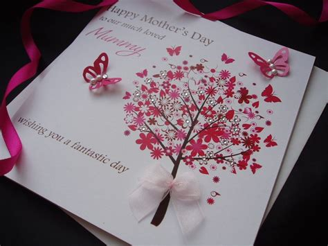 mother s day greeting card handmade mothers day cards personalised handmade mothers day