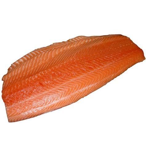 Shelf Of Fresh Salmon by Mt Cook Alpine Salmon Skin Sashimi Portion Fresh