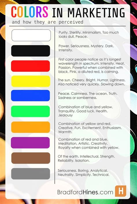 marketing colors the psychology of colors in marketing work stuff