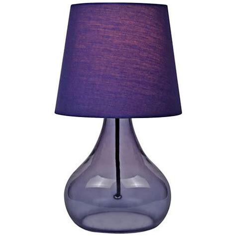 purple accent table lite source 14 quot h purple glass jar accent table l