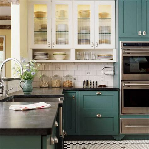 Two Tone Kitchen Cupboards - stylish two tone kitchen cabinets for your inspiration
