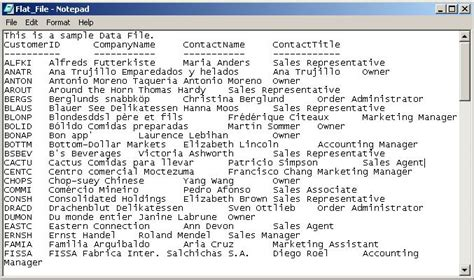 Sql If Exists Drop Table Bulk Insert From Flat File Using Transact Sql Sql Sample