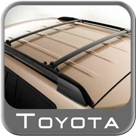 Roof Rack For Toyota Highlander 2013 by 2008 2013 Toyota Highlander Roof Rack Crossbar Set Black