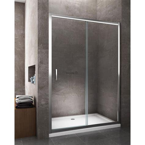 box doccia porta scorrevole porta doccia scorrevole per nicchia cromo cristallo 6 mm