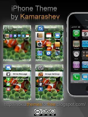 theme maker for e66 kamarashev s free nokia themes free iphone theme for nokia