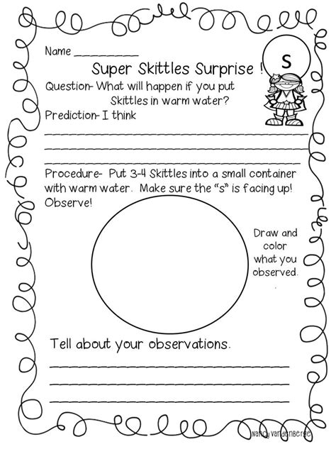 1st Grade Science Worksheets by Science Experiment For Graders 1st Grade Science