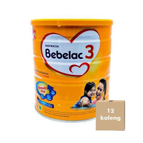 Bebelac 3 Vanila Jual Bebelac 3 Vanila 800 G Karton 12 Kaleng Prosehat
