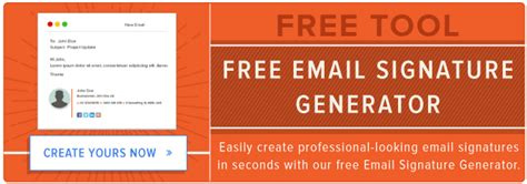 email format generator 12 clever ways to use your email signature to support your