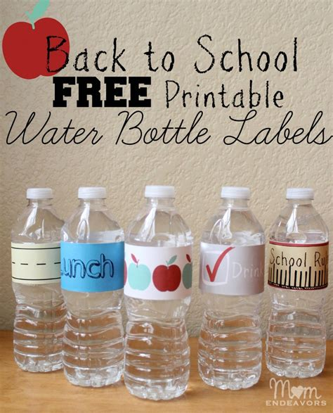 drink bottle label template convenient drinks for back to school lunches with