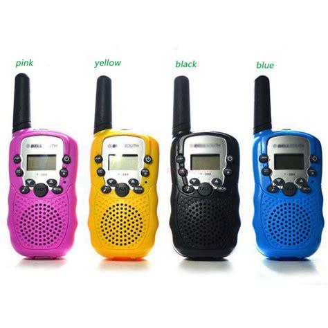 Mainan Anak Children Walkie Talkie 1 Pair 2pcs get cheap walkie talkie aliexpress alibaba
