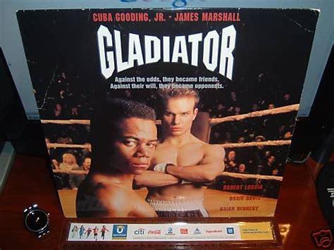 gladiator film cuba gooding jr laserdisc gladiator 1992 cuba gooding jr fs ld