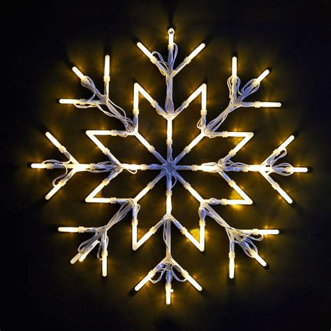b m snowflake christmas light 37 x 37cm 270604