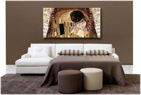 quadri per arredamento moderno quadro in tela per arredamento moderno il bacio cornici