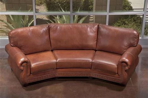 curved leather sectional sofa small curved leather sectional sofa infosofa co