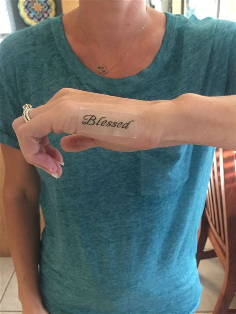 finger tattoo blessed 67 best images about tattoos on pinterest cross tattoos