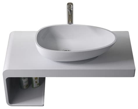 solid surface bathroom sink adm solid surface stone resin counter top sink matte