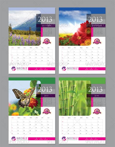 new year 2013 calander templates 40 free and premium