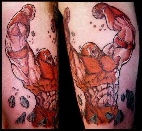 juggernaut tattoo juggernaut marvel