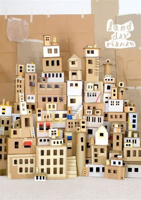 How To Make A City With Paper - this list of creative and cheap activities will make