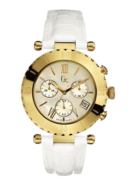 Guess Collection Chronograph guess collection chronograph white leather i34501l1