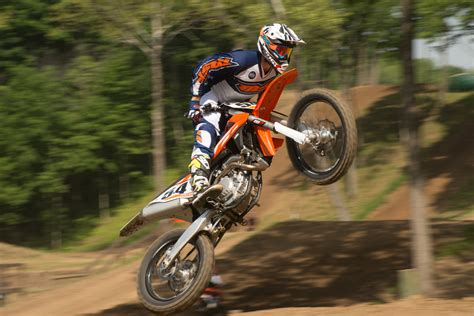 first motocross bike first ride ktm xc f sx f for 2016 dirt bike magazine