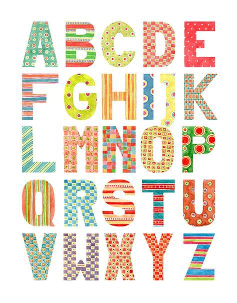 pattern design letter alphabet watercolor patterns on behance