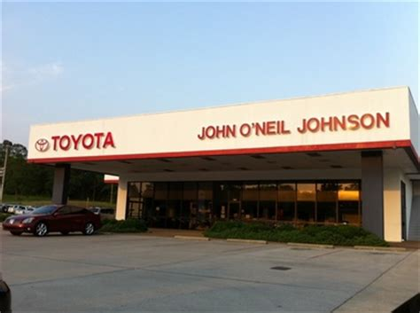 Toyota Dealership Mississippi O Neil Johnson Toyota In Meridian Ms 39301 Citysearch