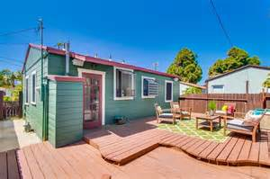 this tiny bungalow in san diego invites you to kick back